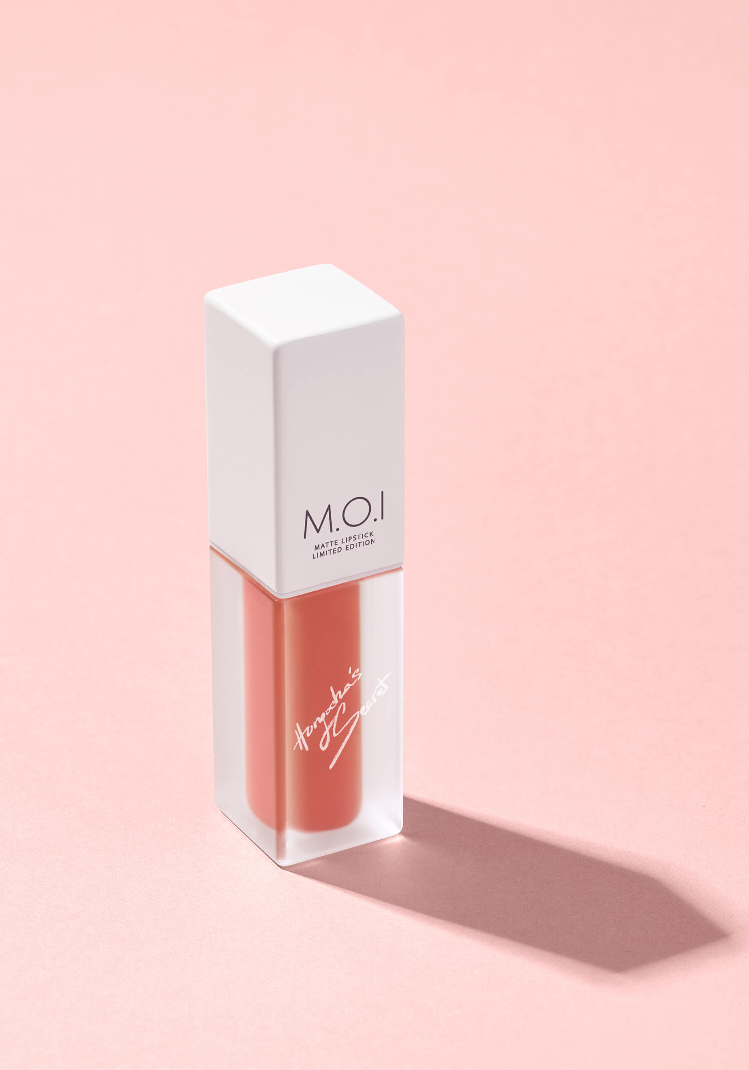 M.O.I COSMETICS WHAT IS LOVE (SON KEM LÌ – HỒNG DA CAM)